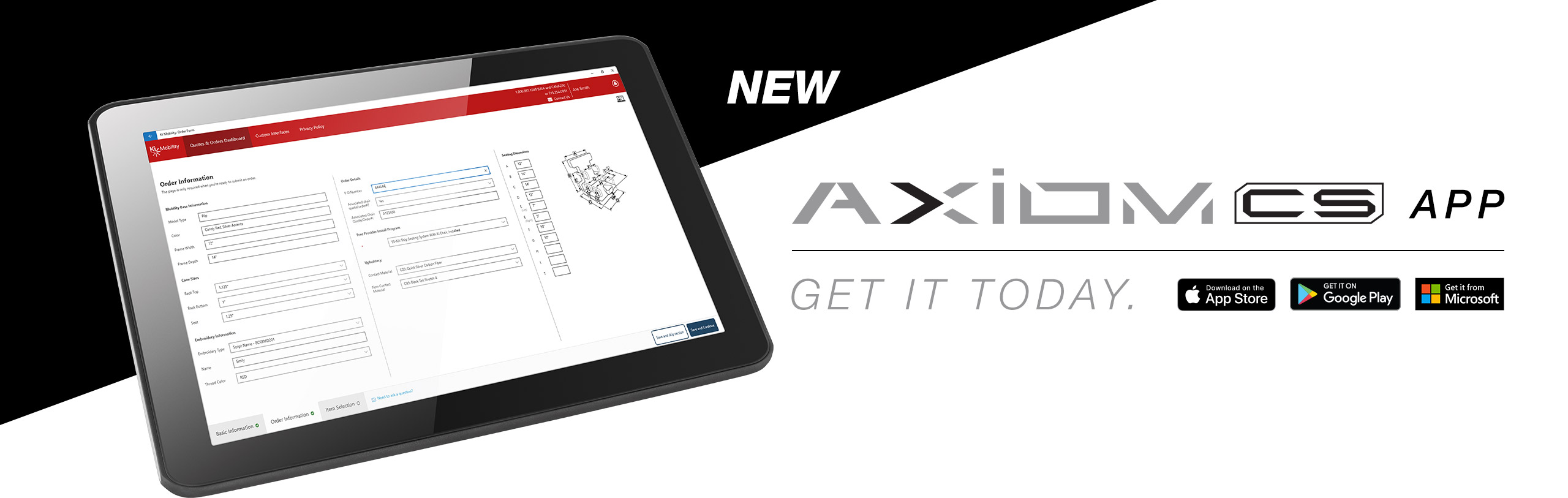 Introducing the NEW Axiom CS App!