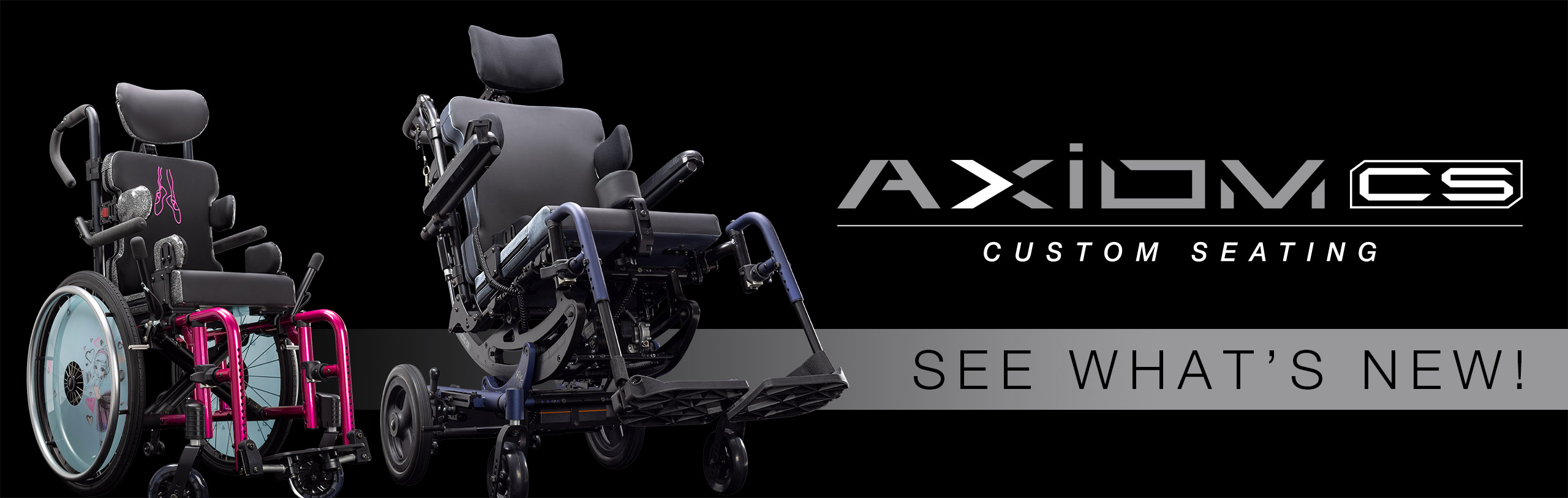 See Whats New For Axiom Custom Seating!