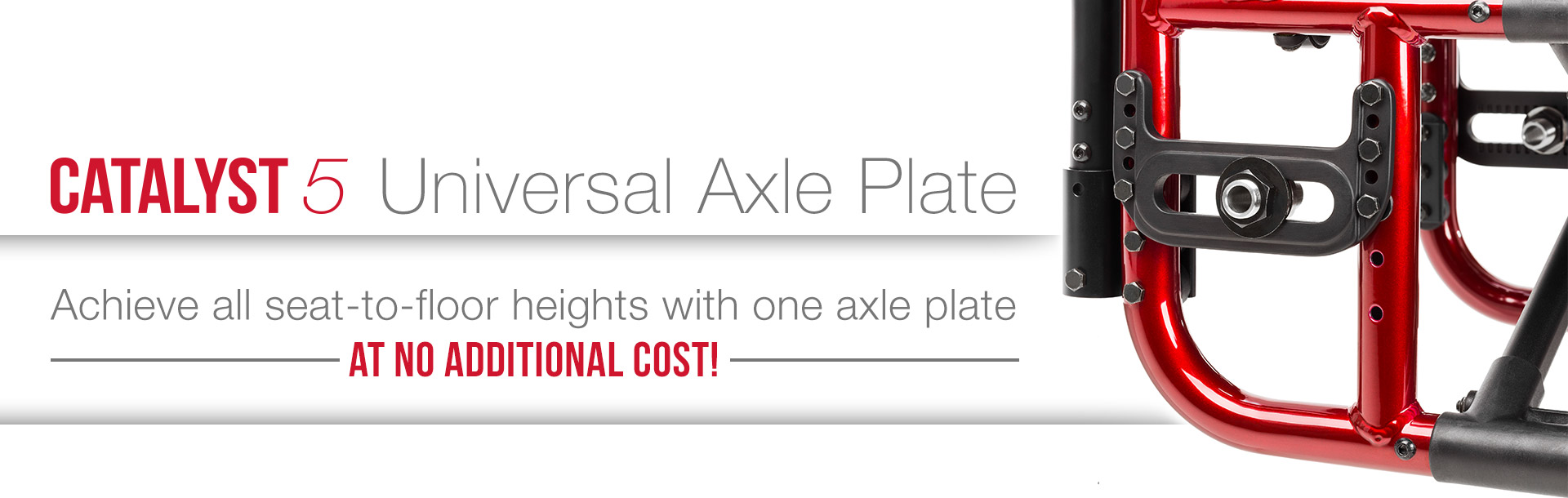 Catalyst Universal Axle Plate