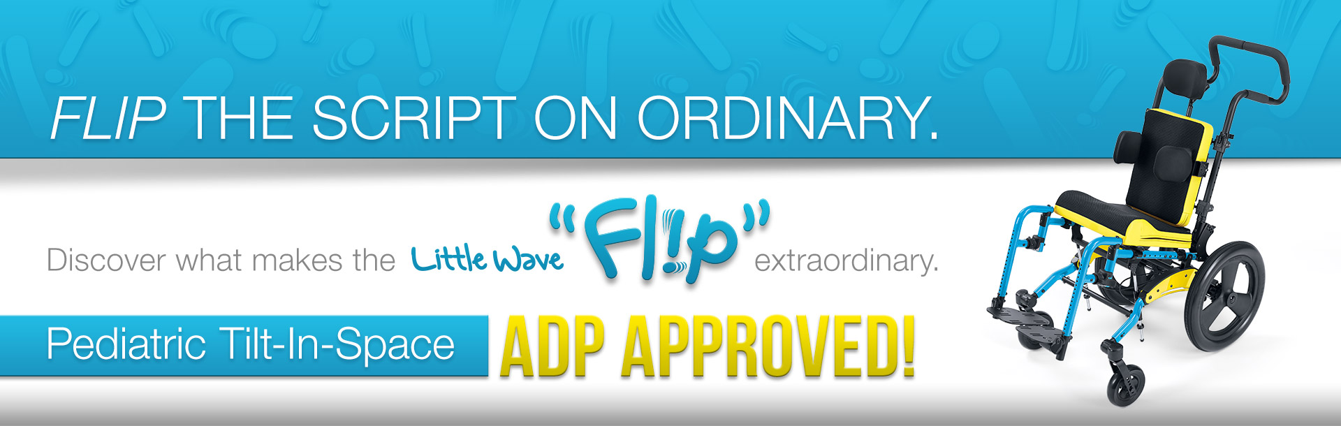 Little Wave Flip is ADP Approved!