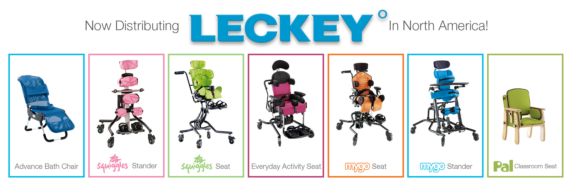 Now Distributing Leckey in North America!