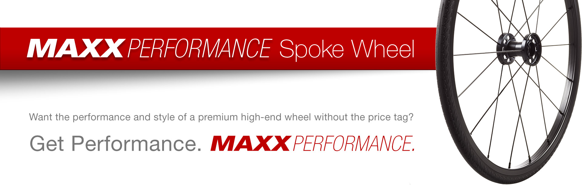 New Maxx Performance Spoke Wheel!