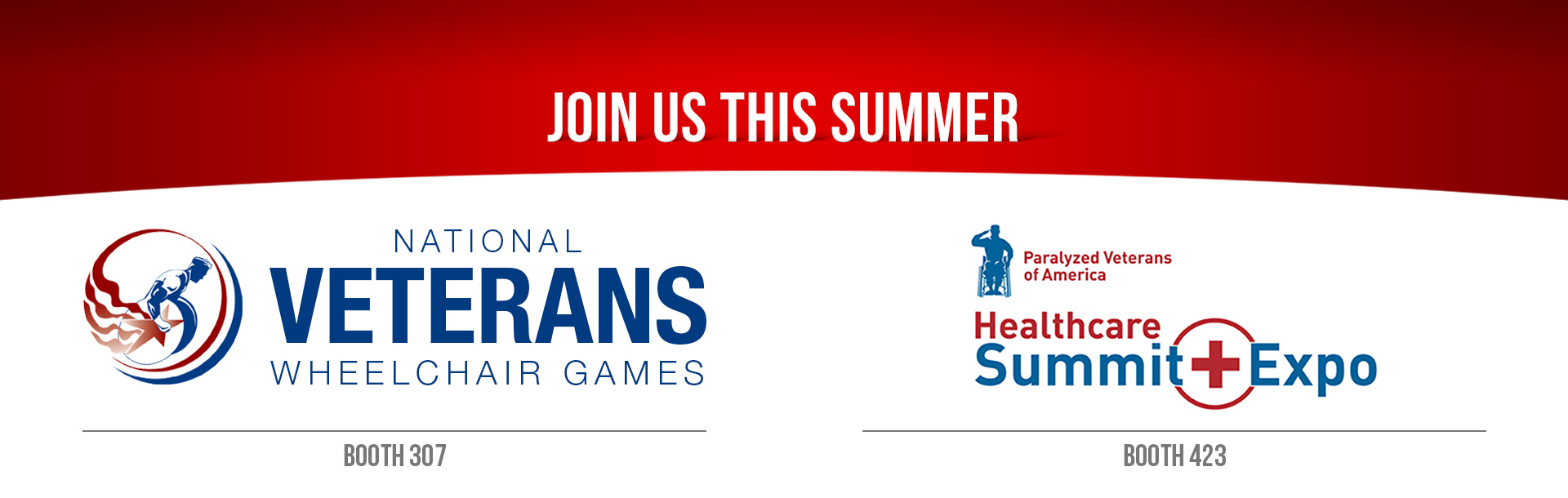 Join us at the National Wheelchair Games and PVA Healthcare Summit and Expo!