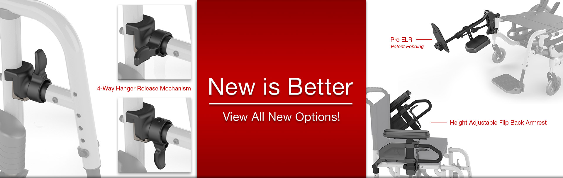 New Options Available!