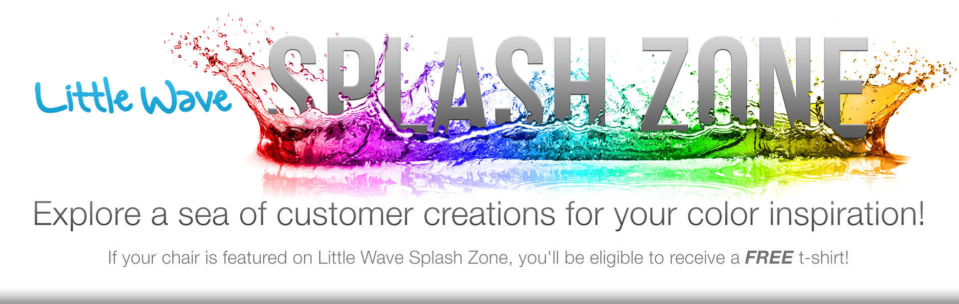 Introducing the Little Wave Splash Zone!